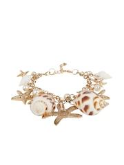 Shining Diva Gold-Toned Bracelet