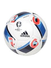 Adidas White EURO16 HRDGRND Printed Football