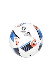 Adidas White EURO16 Training Pro Printed Football