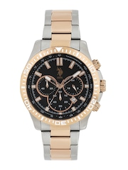 U.S. Polo Assn. Men Black Dial Chronograph Watch USAT0098