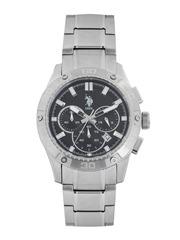 U.S. Polo Assn. Men Black Dial Chronograph Watch USAT0106