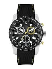 U.S. Polo Assn. Men Black Dial Chronograph Watch USAT0121