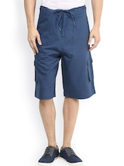 Hypernation Blue Cargo Shorts