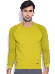 United Colors of Benetton Lime Green Sweater
