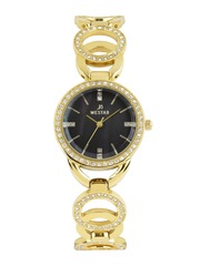 Westar Women Pearly Black Dial Watch 0449GPN113