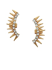 20Dresses Gold-Toned Ear Cuffs with CZ