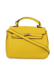 Alvaro Castagnino Yellow Satchel