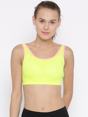 Restless Yellow Sports Bra RS I 12A