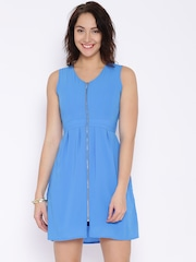 CODE by Lifestyle Blue A-Line Dress