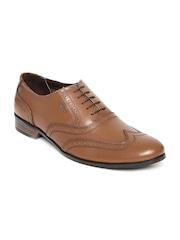 Lee Cooper Men Brown Leather Brogues