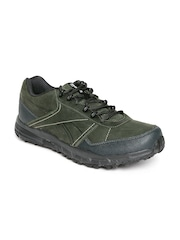 Reebok Men Green Adventure Cruiser TRL Leather Outdoor Shoes