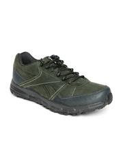 Reebok Men Green Adventure Cruiser TRL Leather Outdoor Shoes