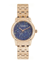 GIORDANO Premier Women Blue Dial Watch P2033-44