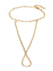 20Dresses Gold-Toned Chain Ring Bracelet