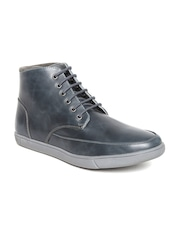 Bata Men Grey Casual Shoes