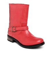 Arden by Knotty Derby Women Red Boots