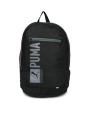 PUMA Unisex Black Pioneer Backpack