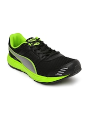 PUMA Men Black Harbour Fashion DP Running Shoes