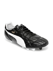 PUMA Men Black Classico iFG Football Shoes