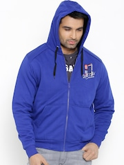 Fort Collins Blue Hooded Sweatshirt
