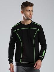 HRX by Hrithik Roshan Black Sweater