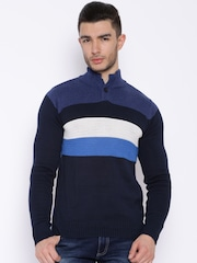 Pepe Jeans Navy Striped Sweater