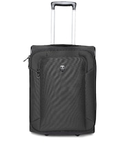 Ellehammer Unisex Black Trolley Bag