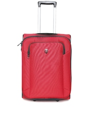 Ellehammer Unisex Red Trolley Bag
