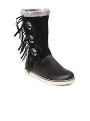 Roadster Women Black Boots