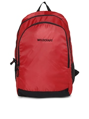 Wildcraft Unisex Red & Black Pivot Backpack
