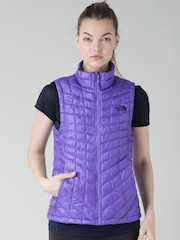 The North Face Purple ThermoBall AP Asian Fit Outdoor Jacket