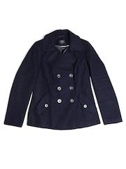 Marks & Spencer Women Navy Coat
