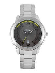 Titan Octane Men Gunmetal-Toned Dial Watch 1585SM07