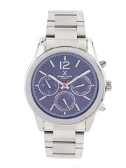 Daniel Klein Exclusive Men Blue Multifunction Dial Watch DK10726-4