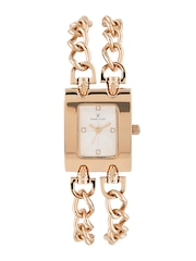 Daniel Klein Trendy Women Silver-Toned Dial Watch DK10767-4