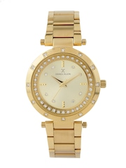 Daniel Klein Premium Women Gold-Toned Dial Watch DK10769-6