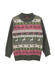 Lilliput Girls Grey Sweater