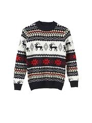 Lilliput Boys Navy & White Sweater
