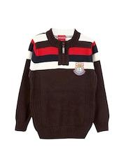 Lilliput Boys Brown Sweater