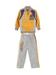 Lilliput Boys Yellow & Grey Tracksuit