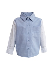 A Little Fable Boys Blue Shirt