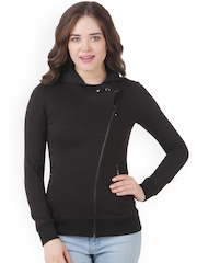 Texco Black Hooded Jacket