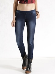 Roadster Blue Denim Skinny Jeans