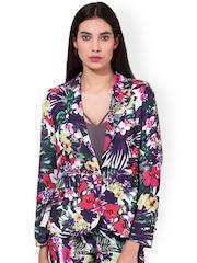 Oxolloxo Multicoloured Floral Print Blazer
