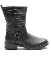 Qupid Women Black Boots