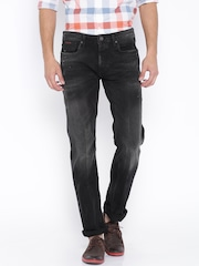 Jack & Jones Black Clark Regular Jeans