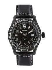 Swiss Eagle Men Black Dial Watch SE-9024-02
