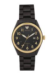 Swiss Eagle Men Black Dial Watch SE-9028-77