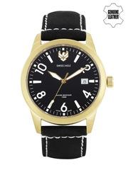 Swiss Eagle Men Black Dial Watch SE-9029-05