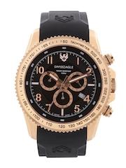 Swiss Eagle Men Black Dial Chronograph Watch SE-9044-04
